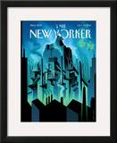 New Yorker Cover - October 10, 2011 Framed Giclee Print by Eric Drooker