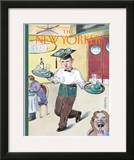 The New Yorker Cover - June 1, 1998 Framed Giclee Print by Barry Blitt