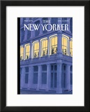The New Yorker Cover - April 13, 2009 Framed Giclee Print by Harry Bliss
