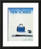 The New Yorker Cover - January 25, 1988 Framed Giclee Print by Eugène Mihaesco