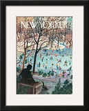 The New Yorker Cover - February 4, 1961 Framed Giclee Print by Ilonka Karasz