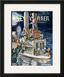 The New Yorker Cover - February 22, 1999 Framed Giclee Print by Edward Sorel