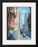 The New Yorker Cover - September 29, 2008 Framed Giclee Print by Eric Drooker