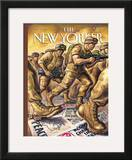 The New Yorker Cover - March 31, 2003 Framed Giclee Print by Owen Smith