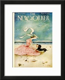 The New Yorker Cover - August 4, 1945 Framed Giclee Print by Mary Petty