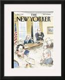 The New Yorker Cover - September 19, 2005 Framed Giclee Print by Barry Blitt