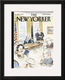 The New Yorker Cover - September 19, 2005 Framed Giclee Print by Barry Blitt