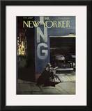 The New Yorker Cover - October 5, 1957 Framed Giclee Print by Arthur Getz