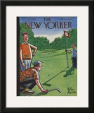 The New Yorker Cover - August 25, 1956 Framed Giclee Print by Peter Arno