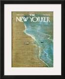 The New Yorker Cover - July 10, 1978 Framed Giclee Print by Andre Francois