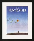 The New Yorker Cover - August 31, 1987 Framed Giclee Print by Eugène Mihaesco