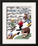 The New Yorker Cover - January 25, 1999 Framed Giclee Print by Ian Falconer