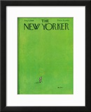 The New Yorker Cover - August 6, 1966 Framed Giclee Print by Abe Birnbaum
