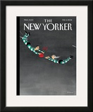 The New Yorker Cover - February 11, 2002 Framed Giclee Print by Ian Falconer