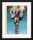 The New Yorker Cover - July 24, 2006 Framed Giclee Print by Mark Ulriksen