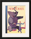 The New Yorker Cover - April 23, 1927 Framed Giclee Print by Andre De Schaub