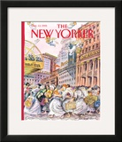 The New Yorker Cover - December 13, 1993 Framed Giclee Print by Edward Sorel