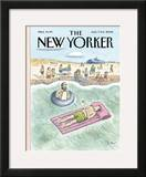 The New Yorker Cover - August 7, 2006 Framed Giclee Print by Roz Chast