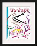 The New Yorker Cover - January 6, 1968 Framed Giclee Print by Abe Birnbaum