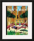 The New Yorker Cover - July 6, 2009 Framed Giclee Print by Mark Ulriksen