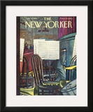 The New Yorker Cover - April 30, 1955 Framed Giclee Print by Arthur Getz