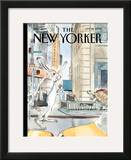 The New Yorker Cover - September 22, 2008 Framed Giclee Print by Barry Blitt