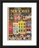 The New Yorker Cover - March 18, 1944 Framed Giclee Print by Witold Gordon