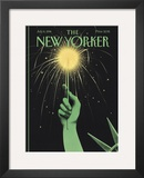 The New Yorker Cover - July 8, 1996 Framed Giclee Print by Ian Falconer