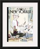 The New Yorker Cover - December 5, 2005 Framed Giclee Print by Barry Blitt