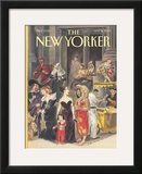 The New Yorker Cover - May 21, 2001 Framed Giclee Print by Edward Sorel