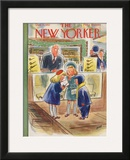 The New Yorker Cover - December 13, 1952 Framed Giclee Print by Leonard Dove