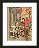 The New Yorker Cover - November 11, 1950 Framed Giclee Print by Mary Petty