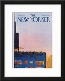The New Yorker Cover - September 5, 1970 Framed Giclee Print by Arthur Getz