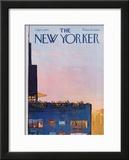 The New Yorker Cover - September 5, 1970 Framed Giclee Print by Arthur Getz
