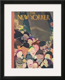 The New Yorker Cover - December 28, 1935 Framed Giclee Print by William Cotton