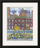 The New Yorker Cover - July 18, 1983 Framed Giclee Print by Barbara Westman