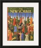 The New Yorker Cover - August 14, 1989 Framed Giclee Print by Bob Knox