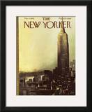 The New Yorker Cover - March 3, 1962 Framed Giclee Print by Arthur Getz