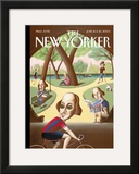 The New Yorker Cover - June 16, 2003 Framed Giclee Print by Mark Ulriksen