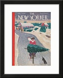 The New Yorker Cover - December 19, 1942 Framed Giclee Print by Garrett Price