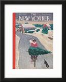 The New Yorker Cover - December 19, 1942 Framed Giclee Print by Garrett Price