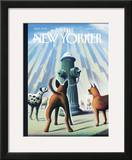 The New Yorker Cover - June 27, 2005 Framed Giclee Print by Eric Drooker