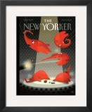 The New Yorker Cover - January 16, 2012 Framed Giclee Print by Bob Staake