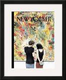 The New Yorker Cover - April 30, 2007 Framed Giclee Print by Harry Bliss