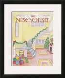 The New Yorker Cover - December 22, 1986 Framed Giclee Print by Iris VanRynbach