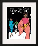 The New Yorker Cover - March 16, 2009 Framed Giclee Print by Jean Claude Floc'h