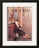 The New Yorker Cover - September 19, 1936 Framed Giclee Print by William Cotton