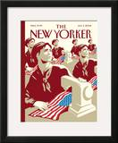 The New Yorker Cover - July 3, 2006 Framed Giclee Print by Christoph Niemann