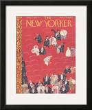 The New Yorker Cover - November 29, 1941 Framed Giclee Print by Roger Duvoisin