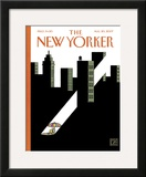 The New Yorker Cover - August 20, 2007 Framed Giclee Print by Joost Swarte
